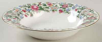 Crown Staffordshire THOUSAND FLOWERS Rimmed Soup Bowl 2124053