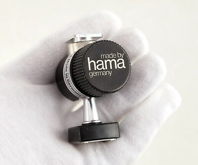 HAMA Adjustable Accessory Shoe Flash Mount Ball Head Made in Germany