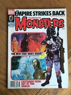 Famous Monsters #166 Aug.1980 - The Empire Strikes Back - Star Wars Special etc