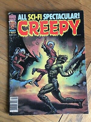 Creepy #107 May 1979 - Warren Mag. - All Sci-Fi Spectacular
