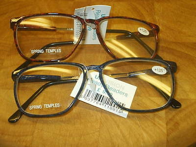 Reading Glasses Cs901 1.25/1.50/1.75/2.00/2.25/2.50 Blue And Red