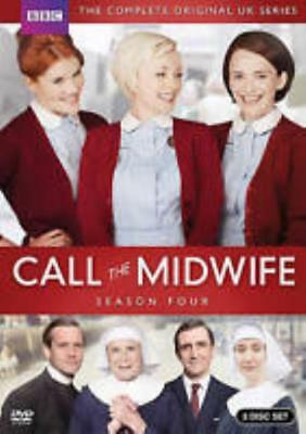 Call The Midwife: Season Four 4th 3-Disc Set DVD VIDEO MOVIE UK TV show series
