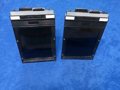 2 X Toyo 4X5 Cut Film Holders In Excellent Condition View Field Press Cameras
