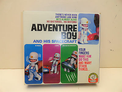 1970 Remco Finger Ding Adventure Boy And His Spacecraft New In Box