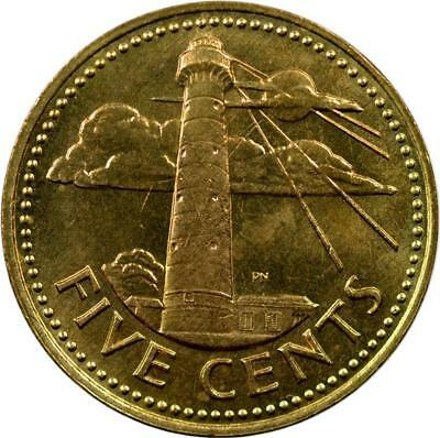 Barbados - 5 Cents - 1973 - Lighthouse - Unc