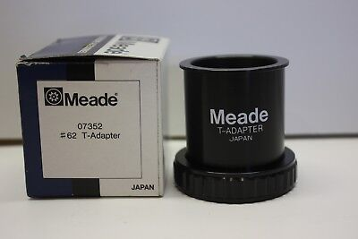 Meade 07352 #62 Telescope T-Adapter for SCT LS LX90 LX200 Astro Photo Imaging