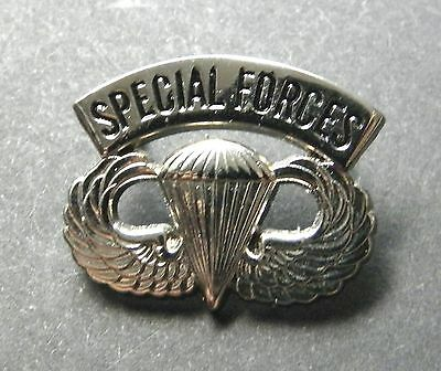 Us Army Special Forces Airborne Wings Lapel Pin Badge 1 Inch