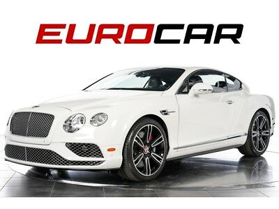 Continental GT V8 S ($231,690.00 MSRP) 2016 Bentley Continental GT V8 S  - $231,690.00 MSRP, TWO TONE INTERIOR!