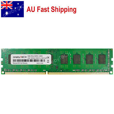 AU 8GB PC3-12800 DDR3 1600 DIMM 240 PIN For AMD CPU AM3 AM3+ Chipset Memory CL11