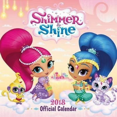 brillo y Shine Oficial 2018 Cuadrado calendario de pared