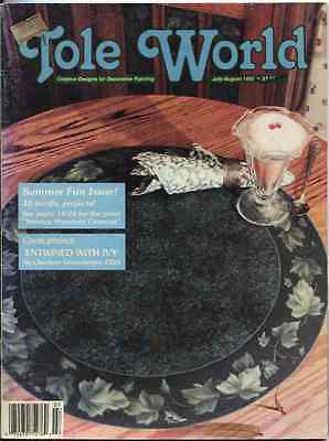 MAGAZINE -  TOLE WORLD - July-August 1992