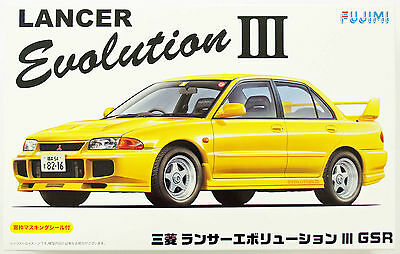 Fujimi ID-34 Mitsubishi Lancer Evolution III GSR 1/24 scale kit