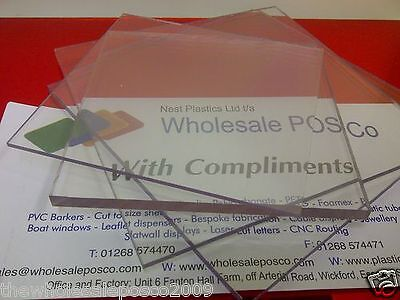 Clear 8mm Polycarbonate Sheet Very Tough Unbreakable Plastic Sheet UV2 Sides