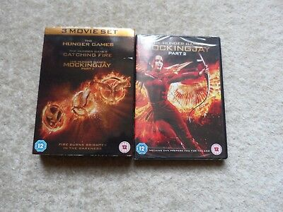 The Hunger Games - Complete  all 4 Film Collection - DVD