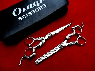 "60 Days Warranty_Osaqi_5.5""Hairdressing Hair Scissors/Japanese Steel"