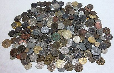 Large Lot of Reproduced Roman and Greek Coins