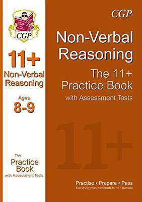 The 11+ Nonverbal Reasoning Practice Book with Assessment Tests (Ages 8-9) by Ri