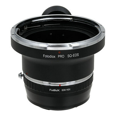 Fotodiox Pro Combo Lens Adapter Bronica SQ Lens to Sony E-Mount/NEX