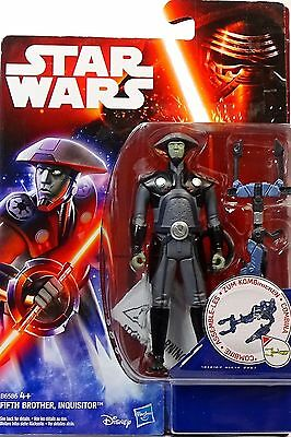 """Star Wars The Force Awakens Fifth Brother Inquisitor """"rebels"""" Hasbro /disney"""