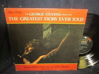 """The Greatest Story Ever Told"" Original Motion Picture Soundtrack LP"