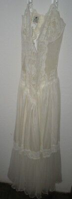 Women's Andrea Kristoff for Escante SMALL Sheer White Lace Lingerie