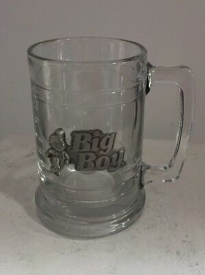 Big Boy Burger Novelty Clear Glass Coffee Mug/Cup, Years of Delicious