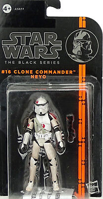 "Clone Commander Neyo ""rots"" Star Wars The Black Series Collection 2014 Hasbro"