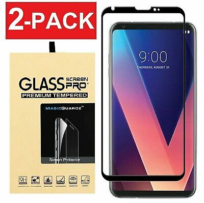 [2-Pack] MagicGuardz® 3D Full Cover Tempered Glass Screen Protector for LG V30