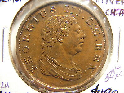 Essequibo & Demerary 1813 Stiver, KM#10, XF