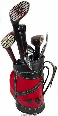 Golf Bar Utensil Set Cart Bag Clubs Vintage 60's Japan 8 piece