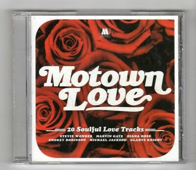 (HZ944) Motown Love, 20 tracks various artists - 2014 CD