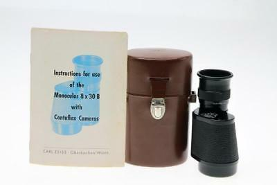 Zeiss Monocular 8x30 B  for Contaflex III   IV  and Super Cameras