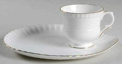 Crown Staffordshire CRS81 Snack Plate & Cup 7040039