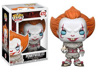 Pop! Movies IT Pennywise (With Boat) #472 Vinyl Figure Funko