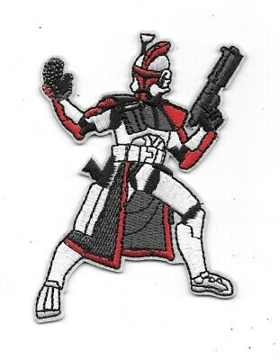 Star Wars Clone Trooper Figure Embroidered Patch Style 2 NEW UNUSED