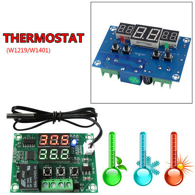 Digital Diaplay Thermostat Temperature Control Switch Sensor Module Thermostat G