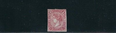 SPAIN 1865 QUEEN ISABELLA II (Scott 67 2c) F UNUSED no gum