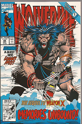 Wolverine # 48 * Weapon X * Near Mint