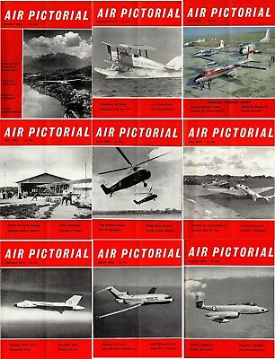 Air Pictorial Magazine (9): January - July, October & November 1963