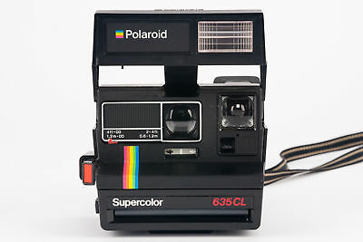 Polaroid Supercolor 635 CL 635-CL 635CL Kamera Sofortbildkamera Camera