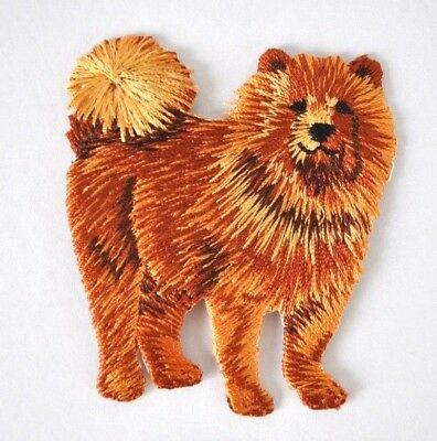 *embroidered* Iron On Dog Patch Top Quality Chow Chow