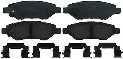 Disc Brake Pad Set-Ceramic Disc Brake Pad Rear ACDELCO PRO DURASTOP 17D1337CH