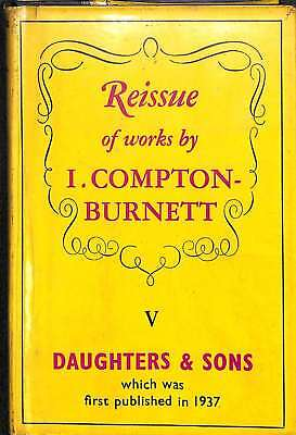 daughters and sons, I compton burnett, Good Condition Book, ISBN