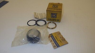 Square D 9001-Ku17 Clear Boot For Selector Switch 30Mm Series F Nib