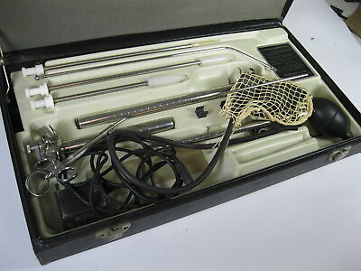 Welch Allyn Metal Sigmoidoscope Instruments With Case