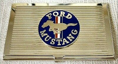 Ford Mustang Business Card Case