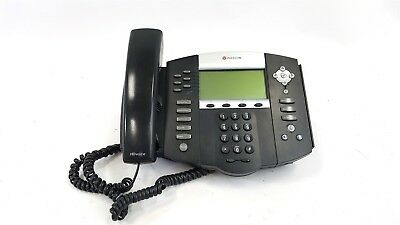 Polycom IP 650 SIP VOIP Business Phone With Stand