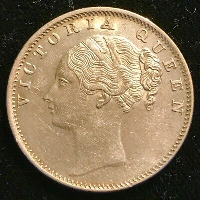 British India East India Company - One Silver Rupee 1840c - Choice Uncirculated!