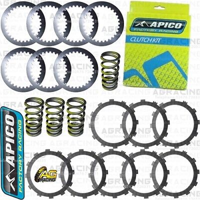 Apico Clutch Kit Steel Friction Plates & Springs For Beta RR 250 300 350 400-520
