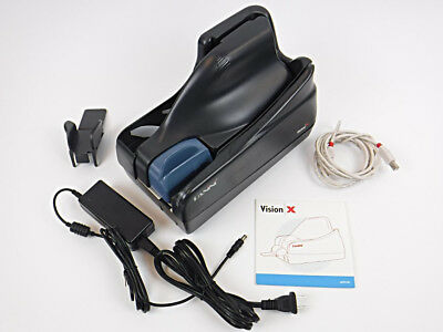 Panini Vision X USB Check Scanner with Adapter & USB Cable - TESTED & WORKING